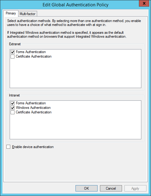 ADFS error while using new SharePoint Migration Tool on ADFS